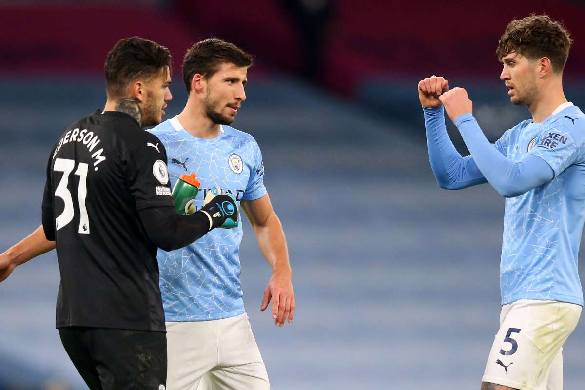 I absolutely love playing with Dias' - Stones hails Manchester City  team-mate following return to form   Goal.com