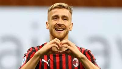 Alexis Saelemaekers Milan Bologna Serie A