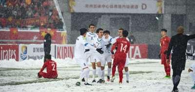 U23 Việt Nam U23 Uzbekistan VCK U23 châu Á 2018