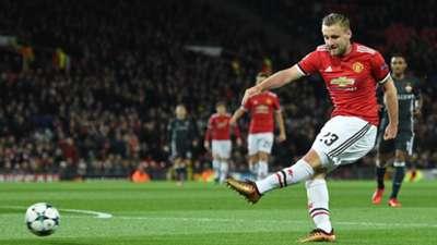 Luke Shaw Manchester United CSKA