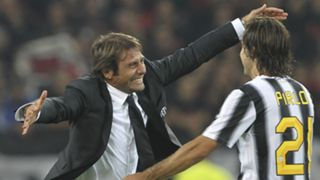 Antonio Conte Andrea Pirlo Juventus 01102011