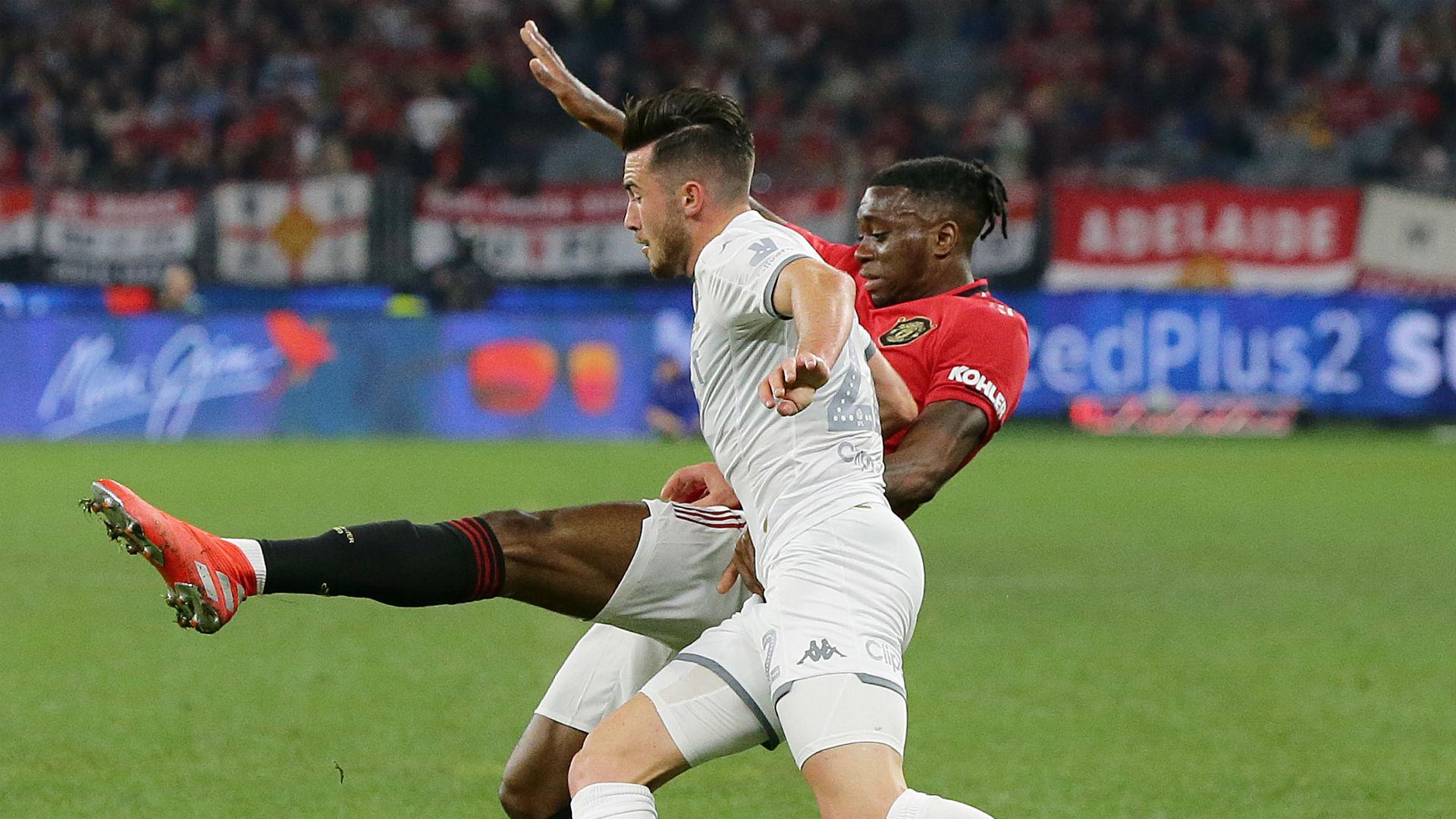 Aaron Wan-Bissaka Manchester United Leeds 2019
