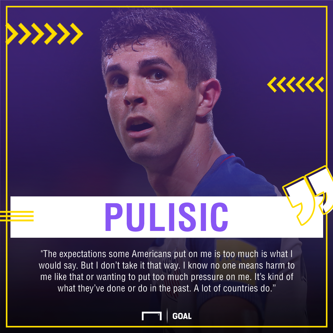 Christian Pulisic expectations gfx