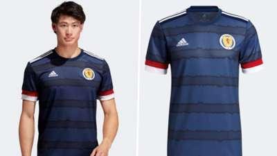 Scotland Euro 2020 home kit