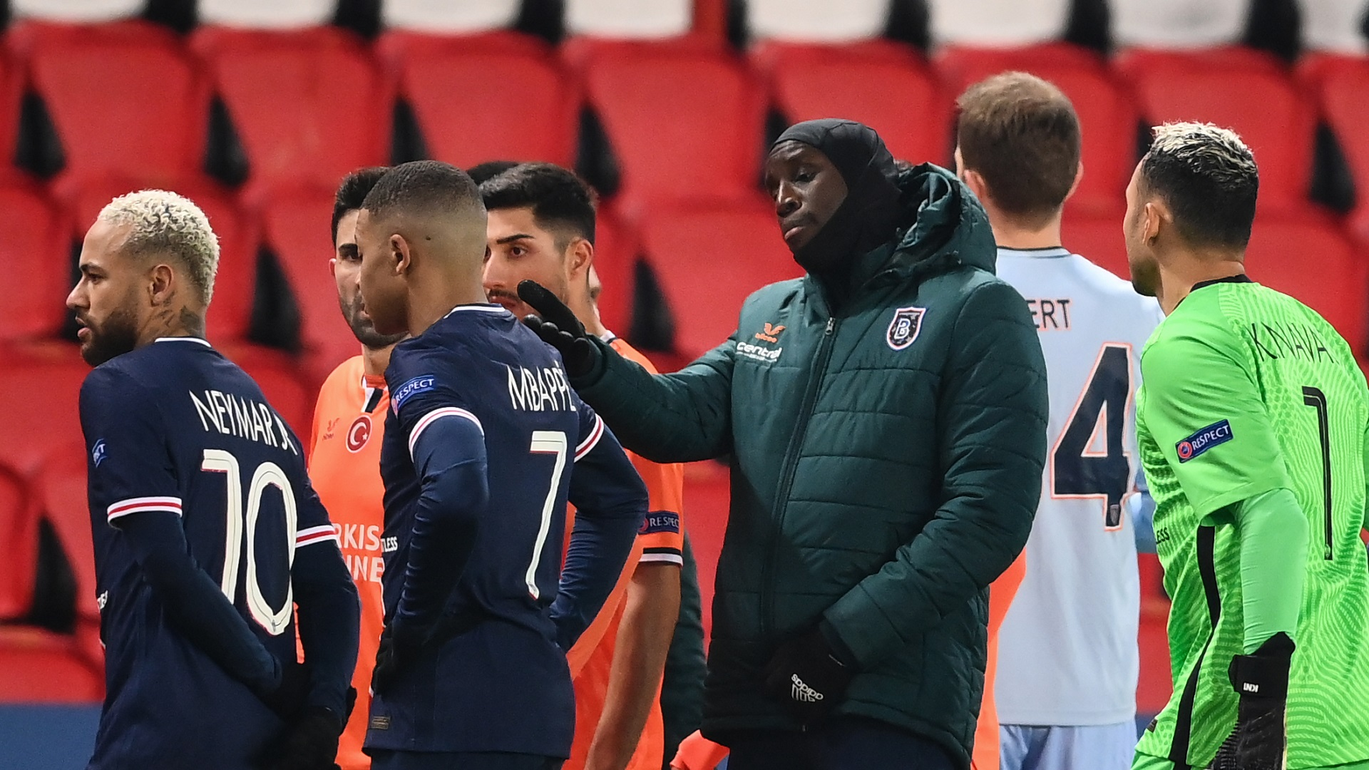 Webo has red card rescinded & will be present at rescheduled PSG vs Istanbul Basaksehir clash