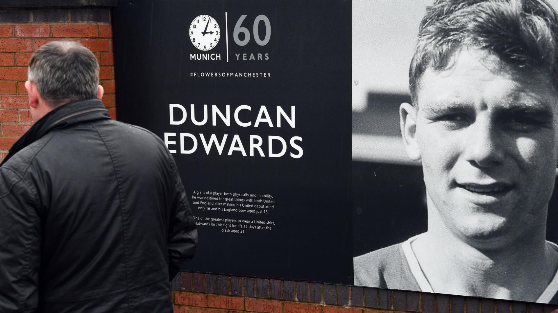 Manchester United Duncan Edwards