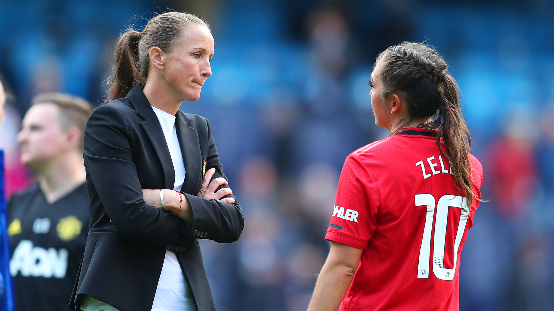 'I'm treated the same way as Solskjaer' – Man Utd boss Stoney embracing criticism in women's game