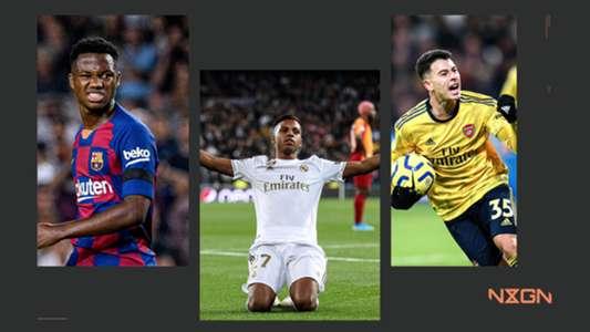 Nxgn 2020 The 50 Best Wonderkids In Football Goal Com