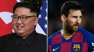 Kim Jong-un Lionel Messi