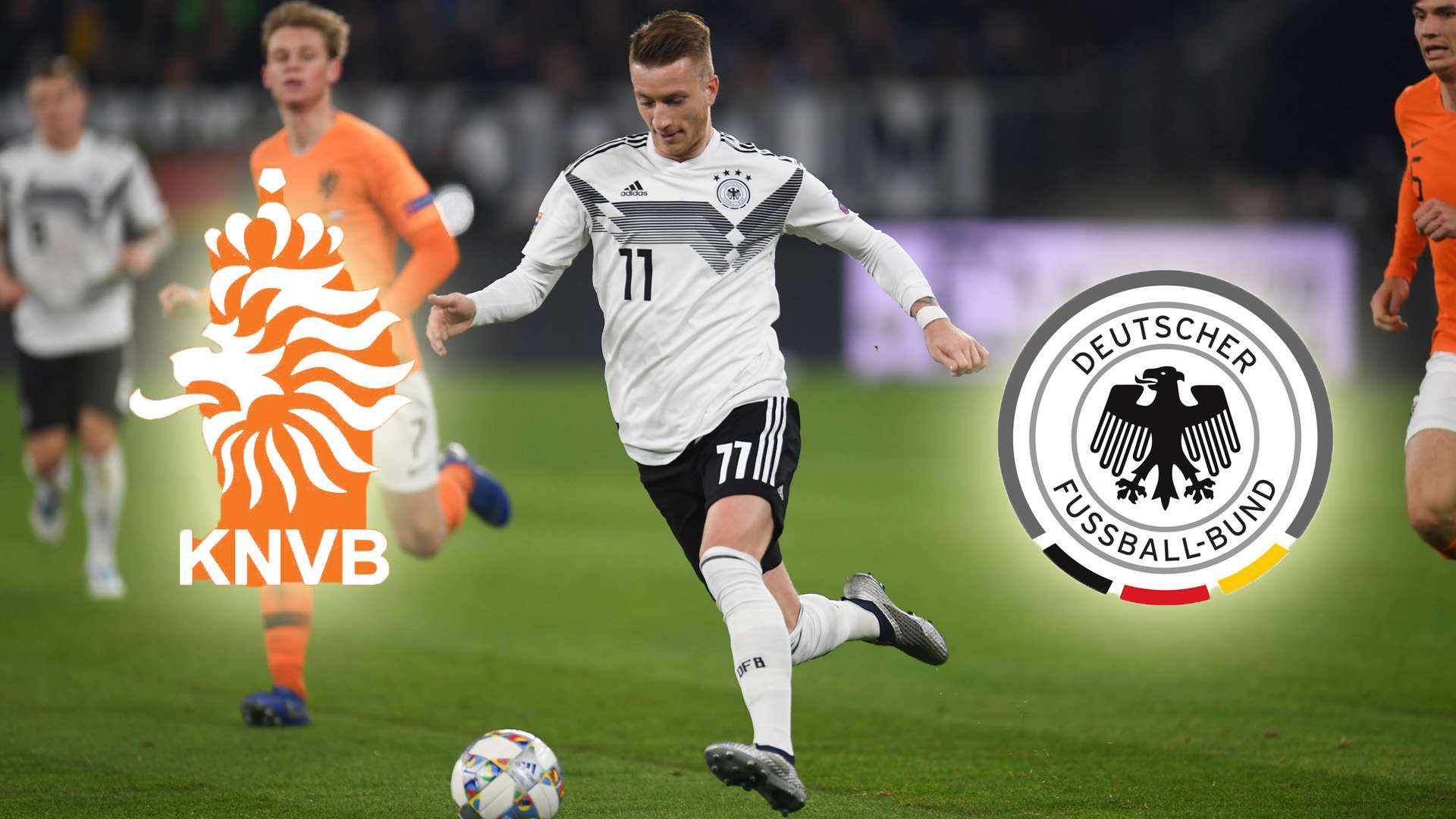Deutschland Vs Niederlande So Laufen Die Highlights Des