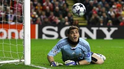 Iker Casillas Real Madrid Champions League 2009