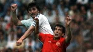 Klaus Allofs Germany Spain World Cup 1982