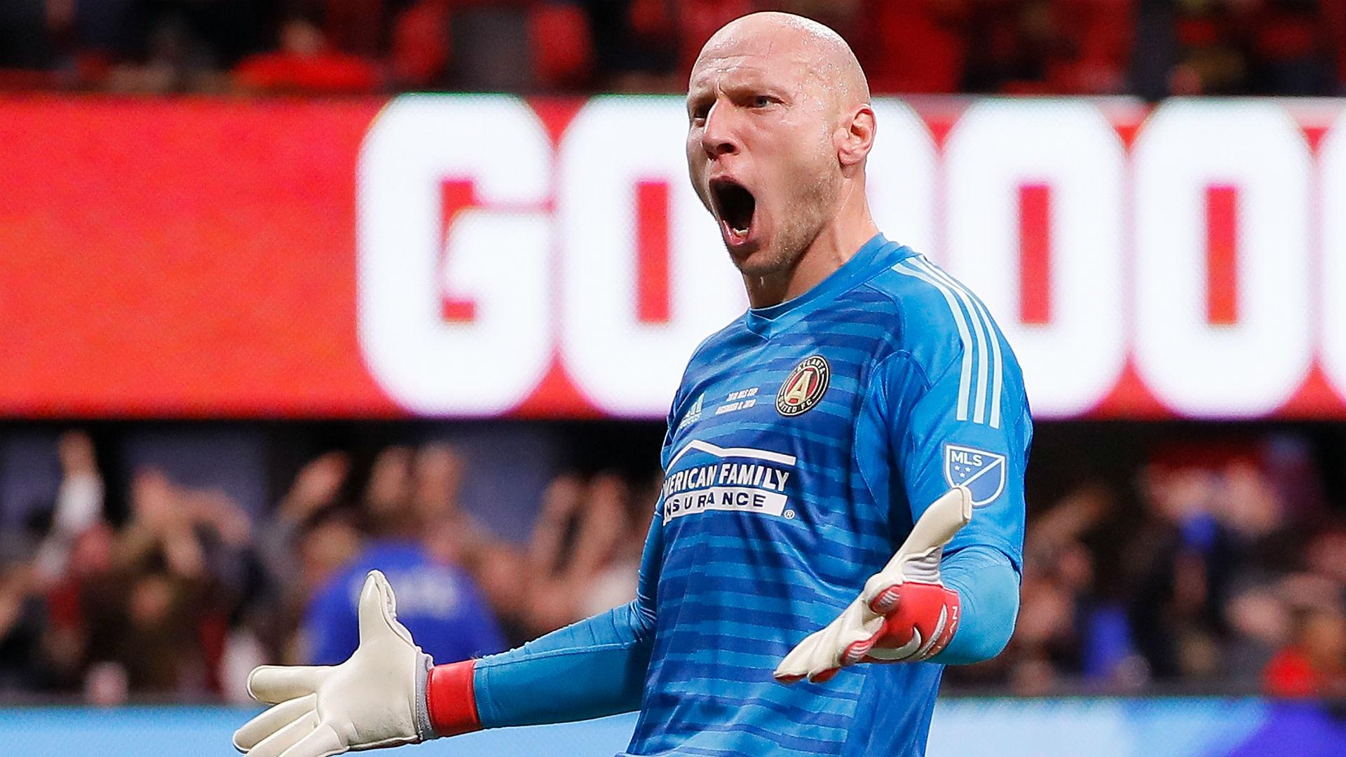 Brad Guzan Atlanta United MLS Cup final 2018