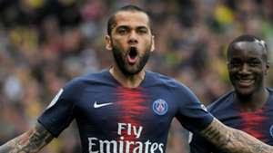 Dani Alves PSG Paris Saint-Germain 2018-19