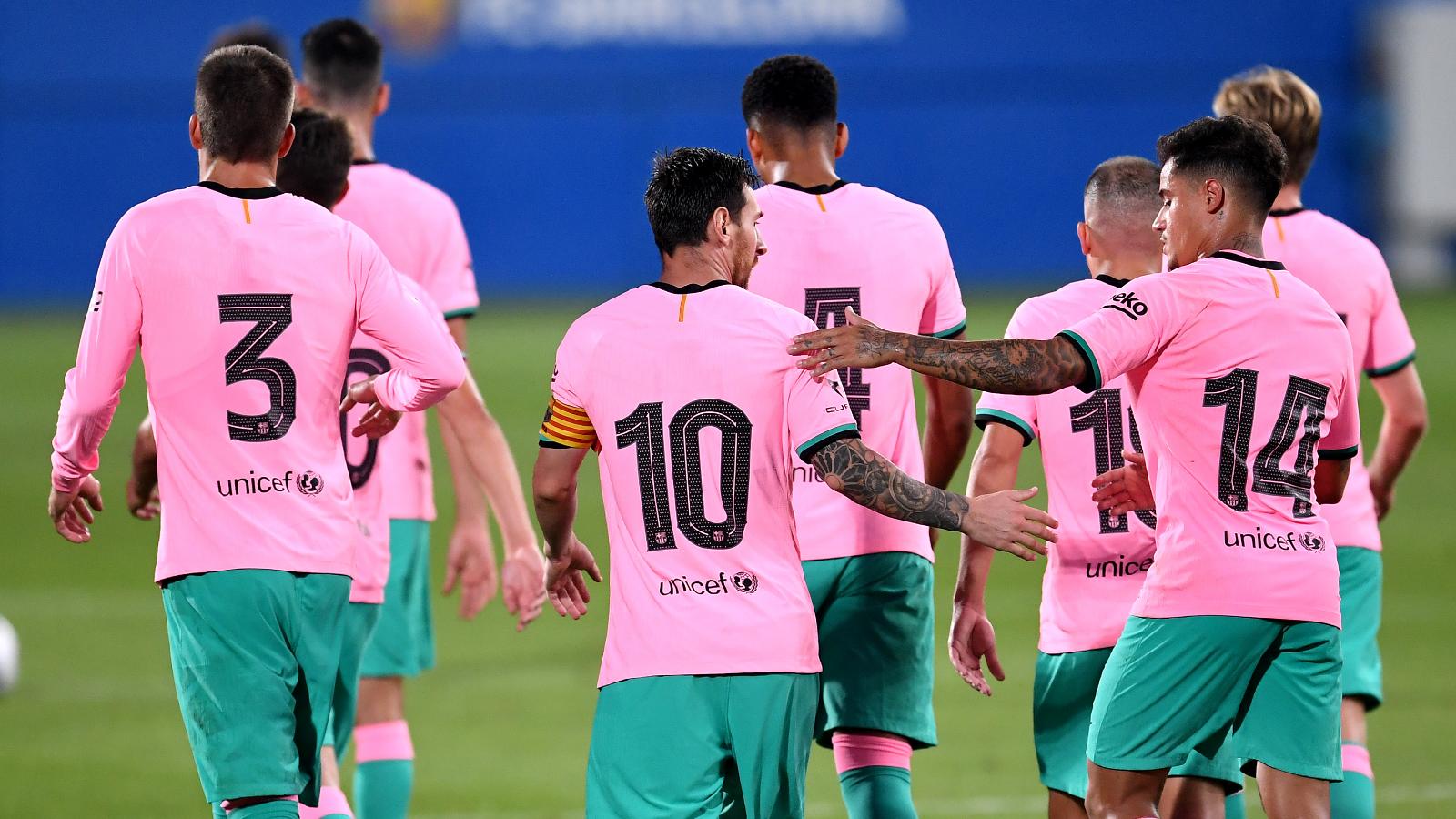 El Resumen Del Barcelona Vs Girona Amistoso De Pretemporada Video Goles Y Estadisticas Goal Com