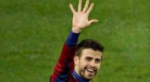 Gerard Pique Real Madrid Barcelona 2010