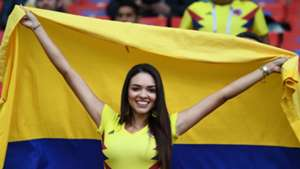 美女サポワールドカップ_コロンビアvsイングランド_コロンビア2