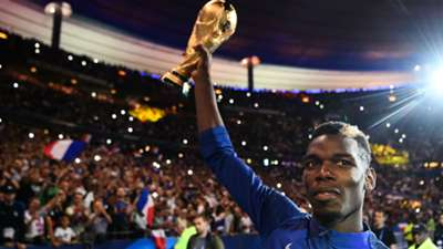Paul Pogba France celebrations