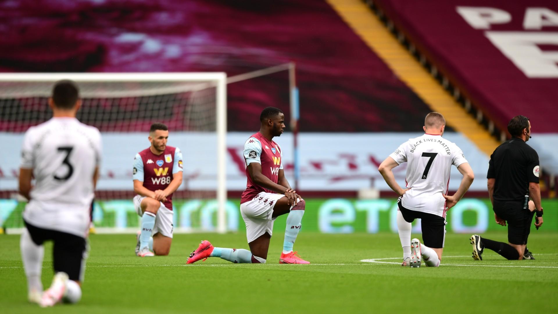 Aston Villa vs Sheffield United, Premier League restart