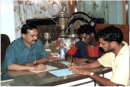 Vijayan and Ancheri sign for FC Kochin