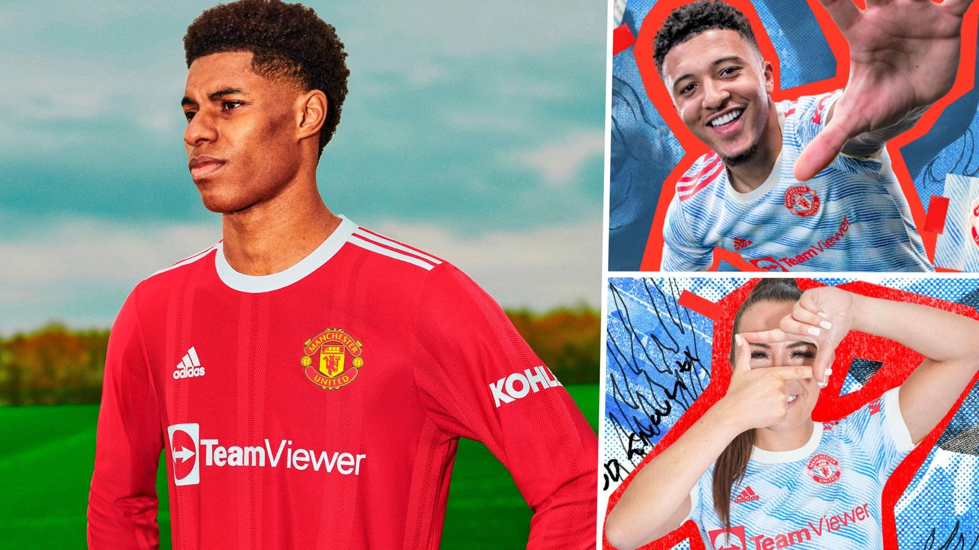 Man Utd 2021 22 Kit New Home Away Third Jersey Styles Plus Release Dates Goal Com