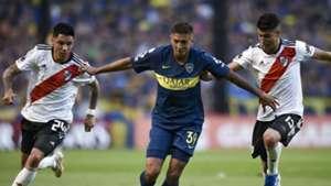 Agustin Almendra Boca Enzo Perez Exequiel Palacios River 2018-19