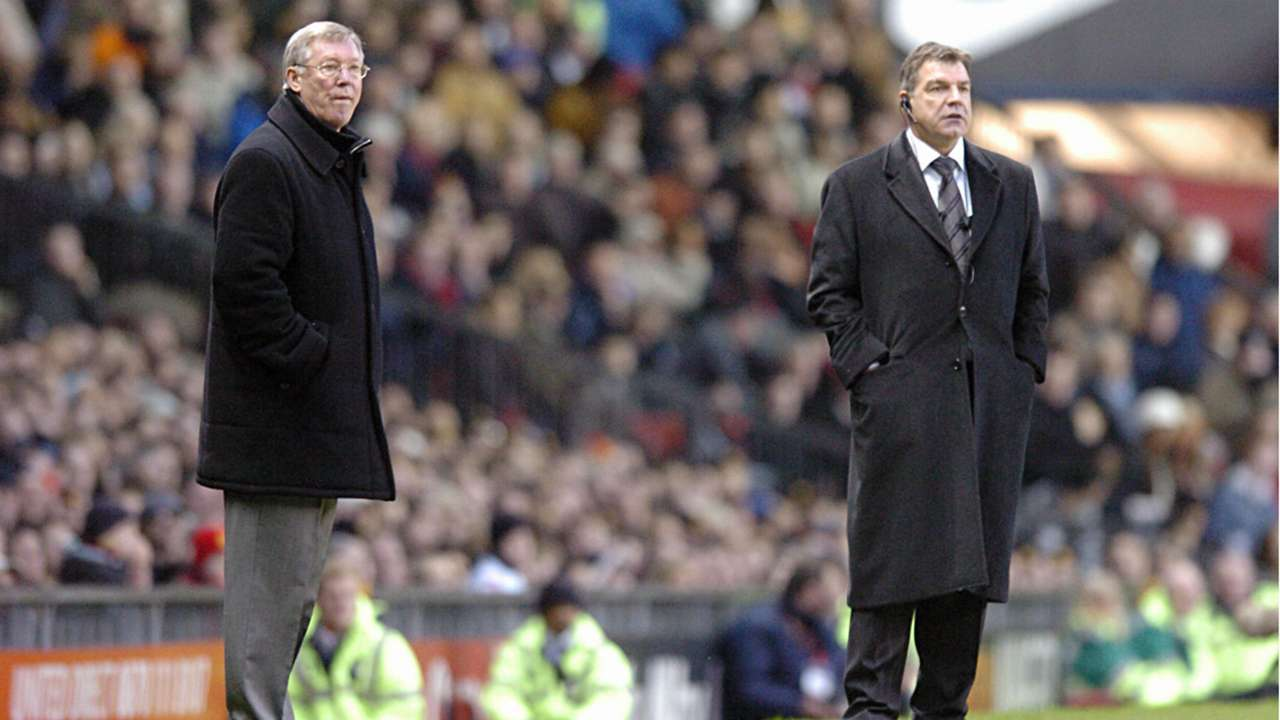 Sir Alex Firguson Sam Allardyce Manchester United Bolton 2005