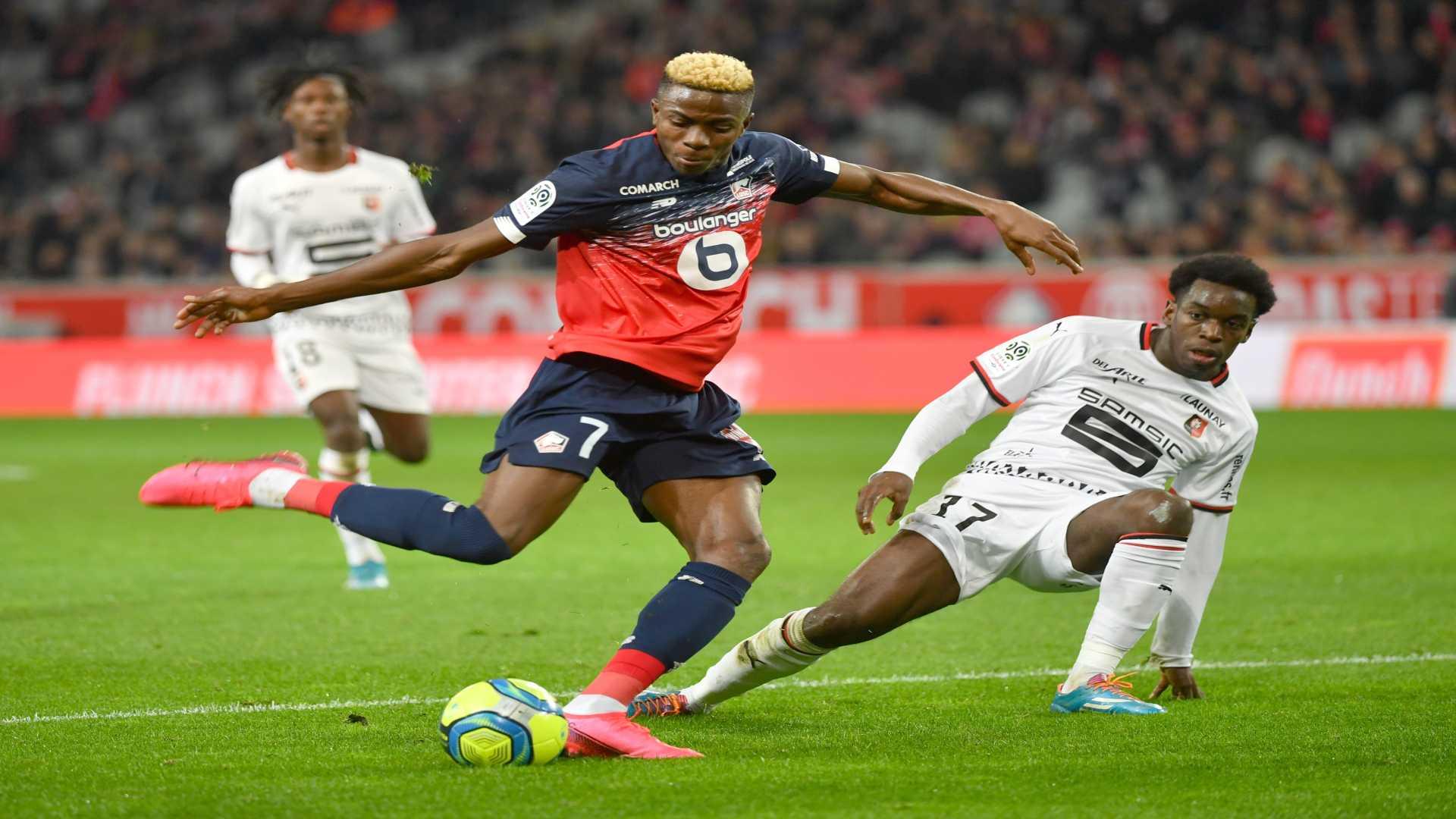 Coronavirus: 'I miss doing my job' - Lille star Osimhen eager for Ligue 1 return