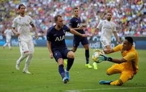 Keylor Navas Real Madrid Tottenham Audi Cup