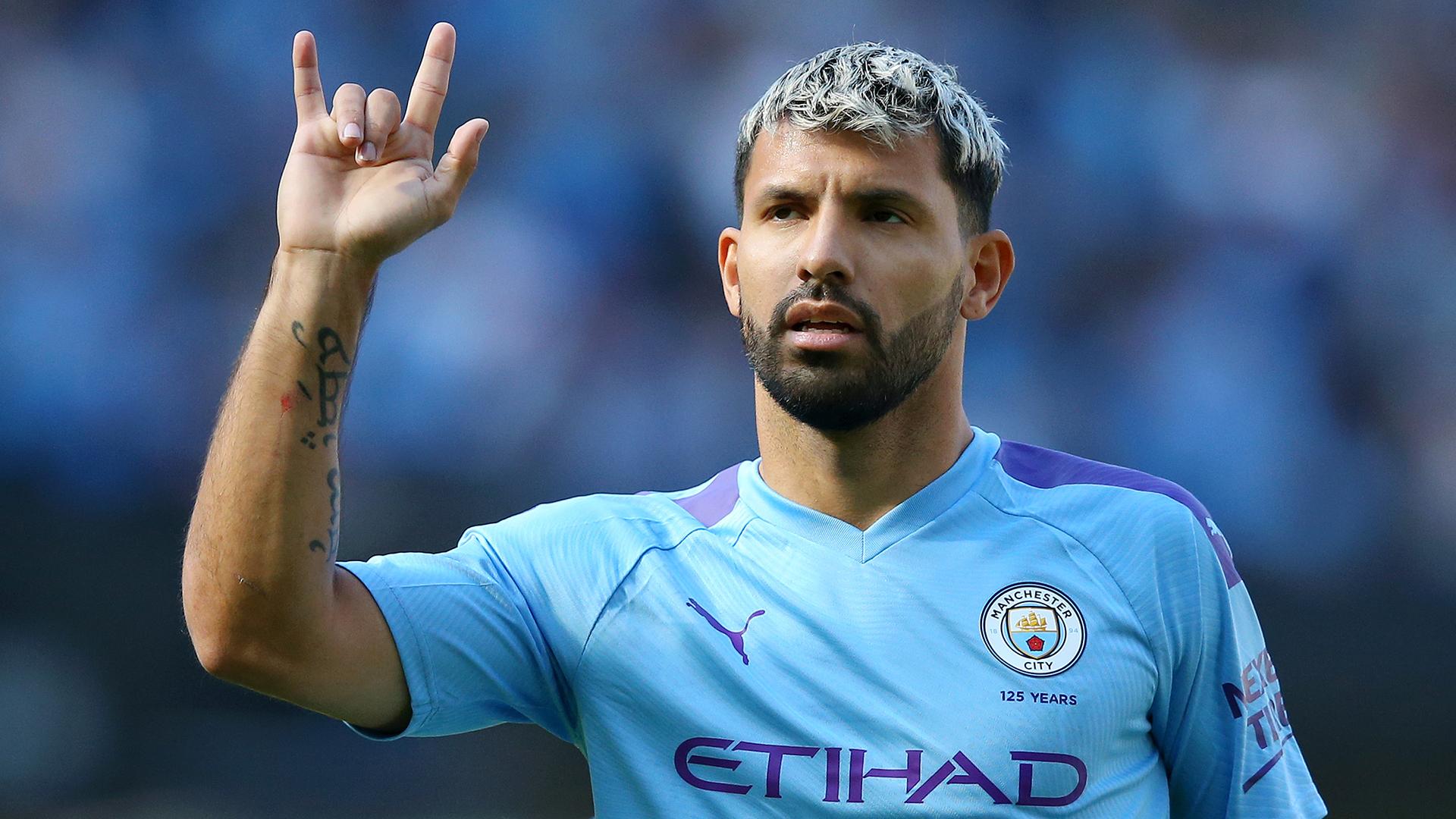 Man City news: Sergio Aguero a...