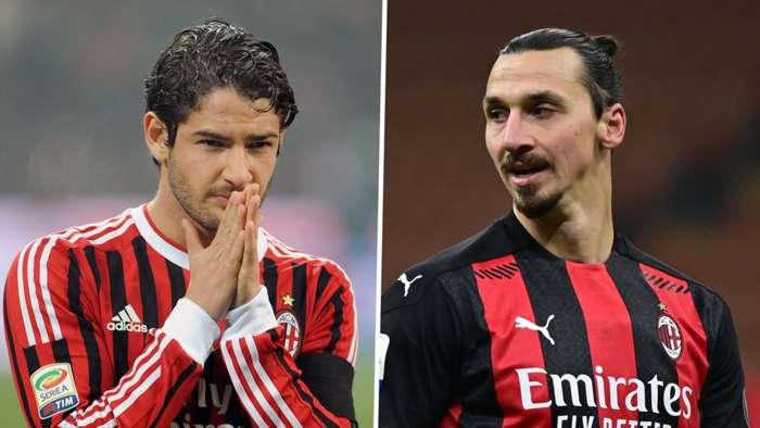 Alexandre Pato, Zlatan Ibrahimovic, AC Milan split