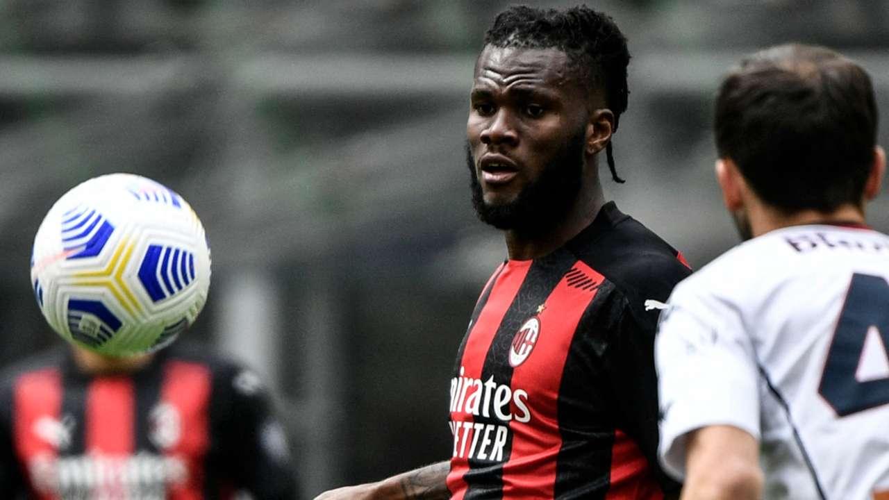 Franck Kessie of AC Milan