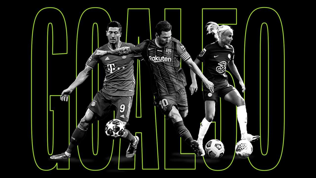 Lewandowski Messi Harder Goal 50 HP