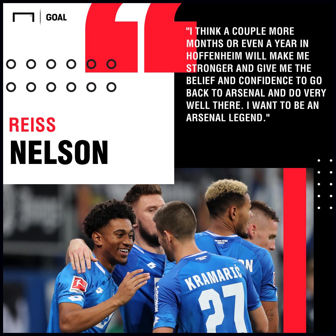 Reiss Nelson Hoffenheim Arsenal PS