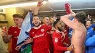 Accrington Stanley League One promotion celebrations