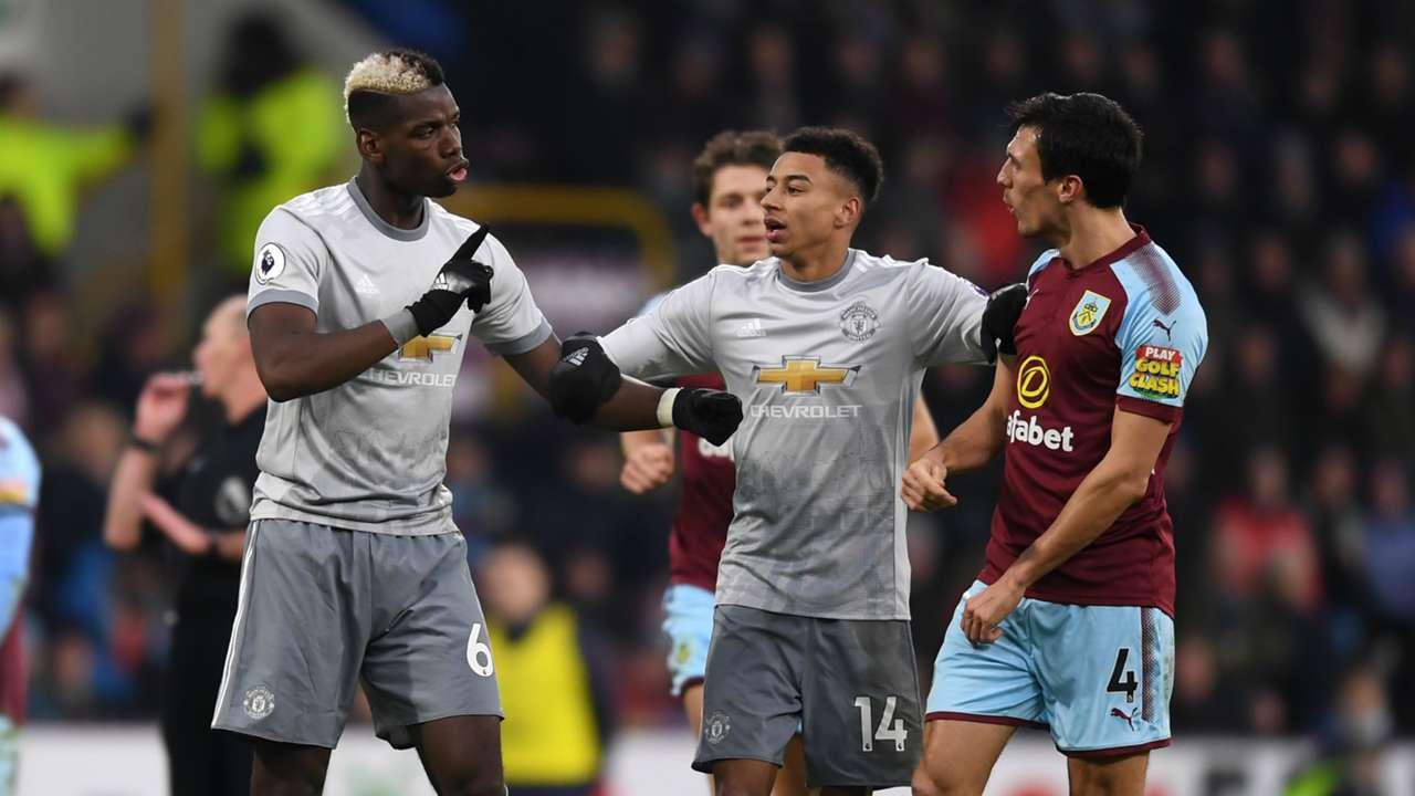 Manchester United Burnley Premier League
