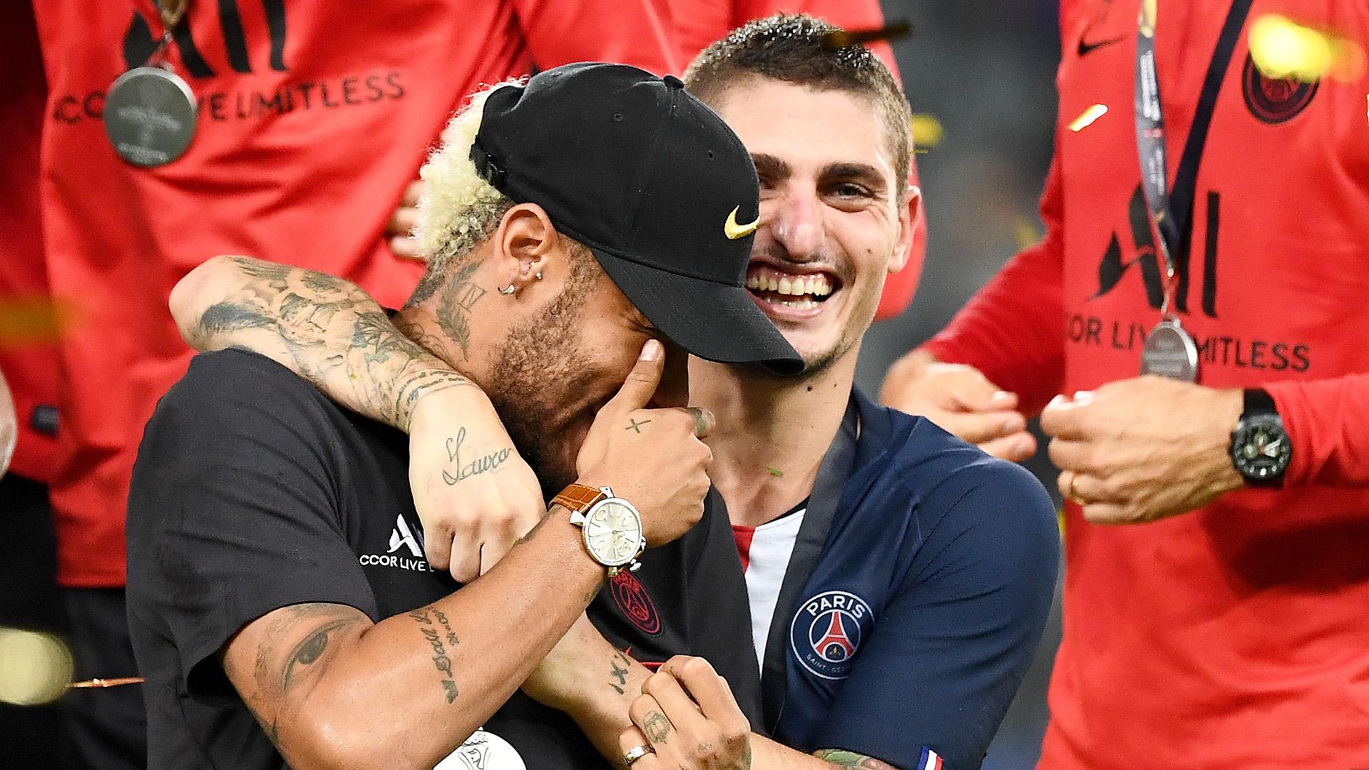 Neymar Marco Verratti PSG 2019