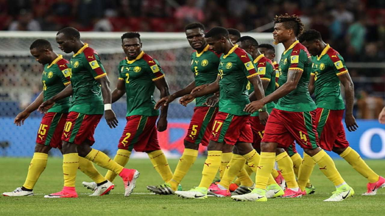 Cameroon Confederations Cup Russia 2017