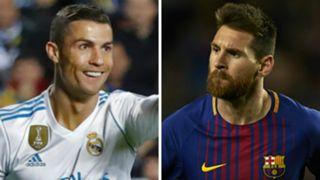 Cristiano Ronaldo Lionel Messi 2017