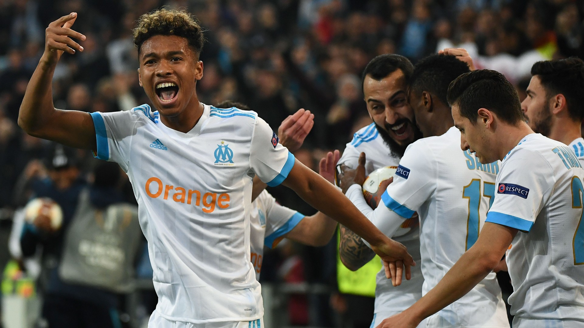 Marseille RB Leipzig UEFA Europa League 12042018