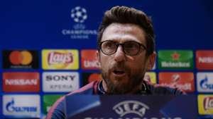 Eusebio Di Francesco Roma Barcelona press conference 09042018