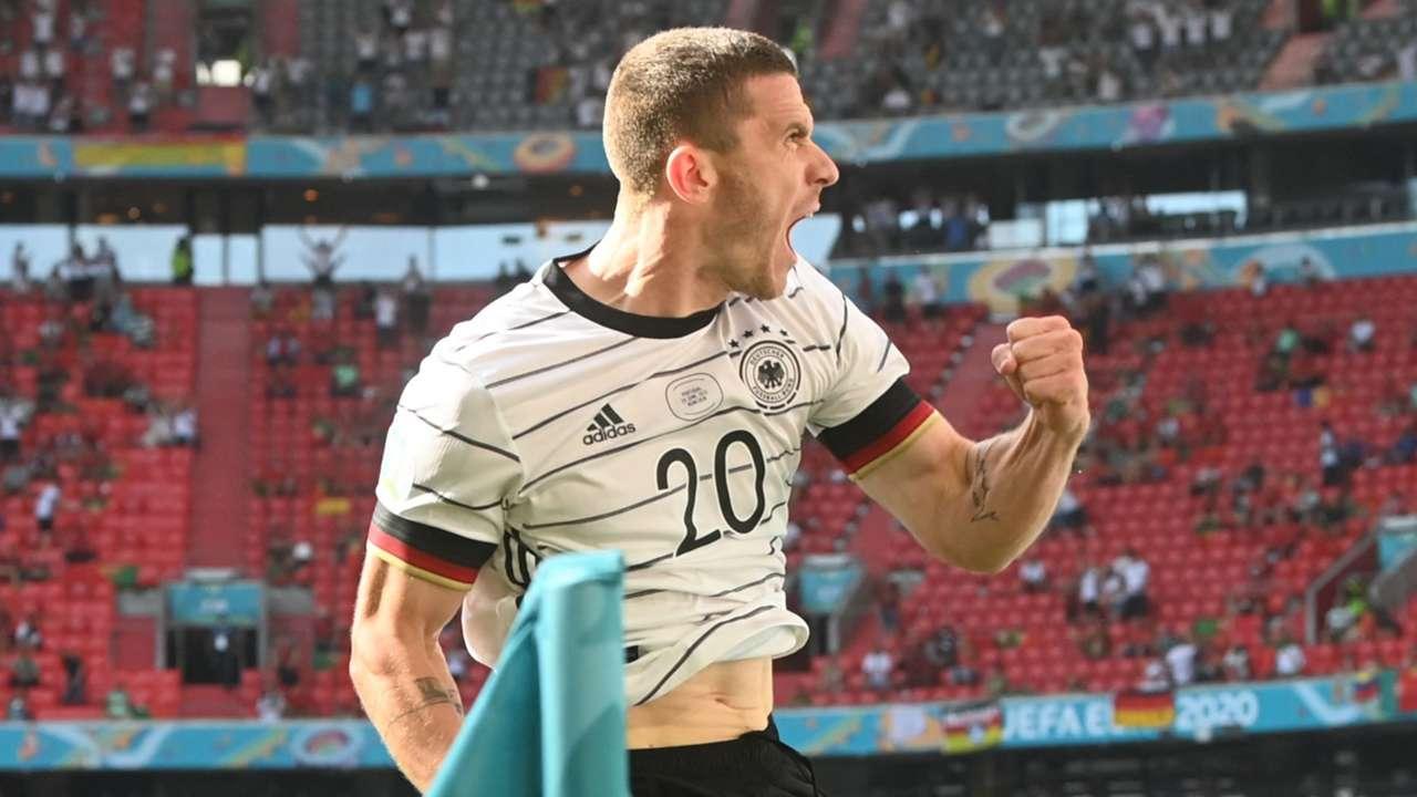 Robin Gosens, Portugal vs Germany Euro 2020