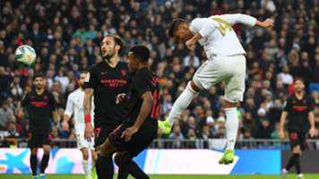 Casemiro Real Madrid Sevilla LaLiga 18012020