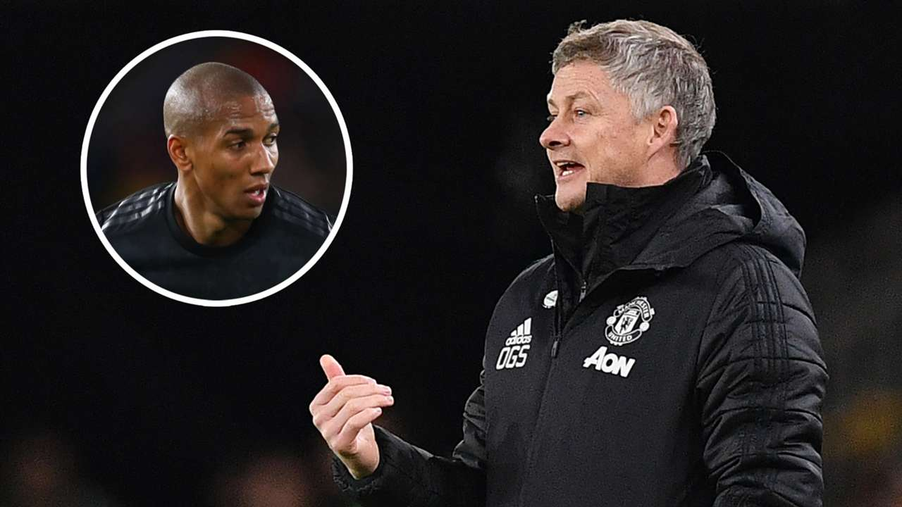 Ashley Young Ole Gunnar Solskjaer