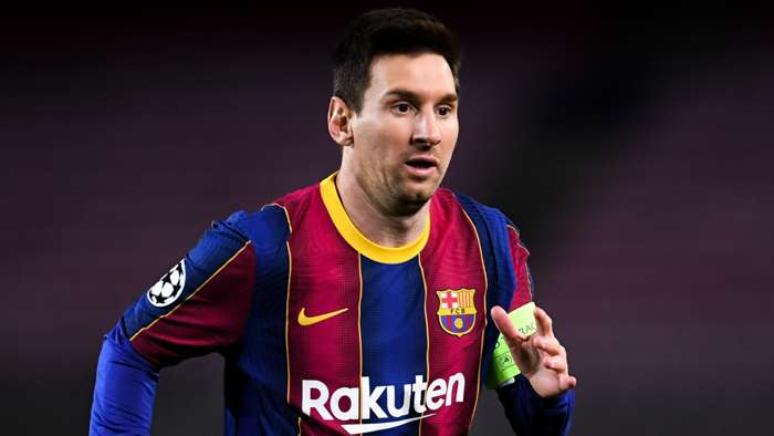 Lionel Messi, Barcelona, Champions League 2020-21