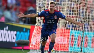 Riley McGree Newcastle Jets