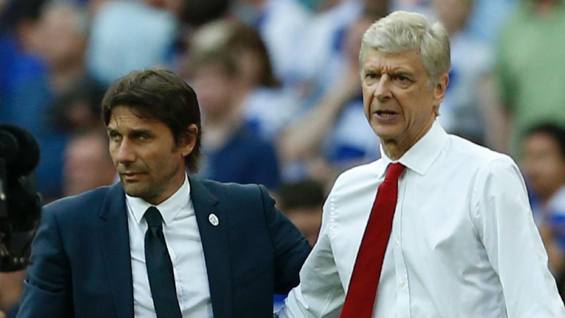 Antonio Conte Chelsea Arsene Wenger Arsenal