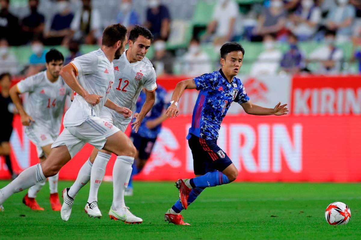 ญี่ปุ่นอุ่นเจ๊าสเปน 1-1 ก่อนเปิดโอลิมปิก | Goal.com