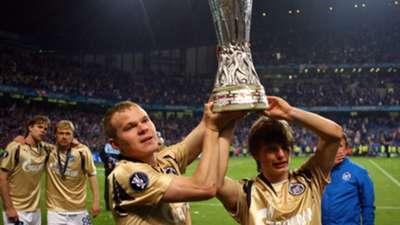 Arshavin Zenit St Petersburg Rangers UEFA Cup 2008