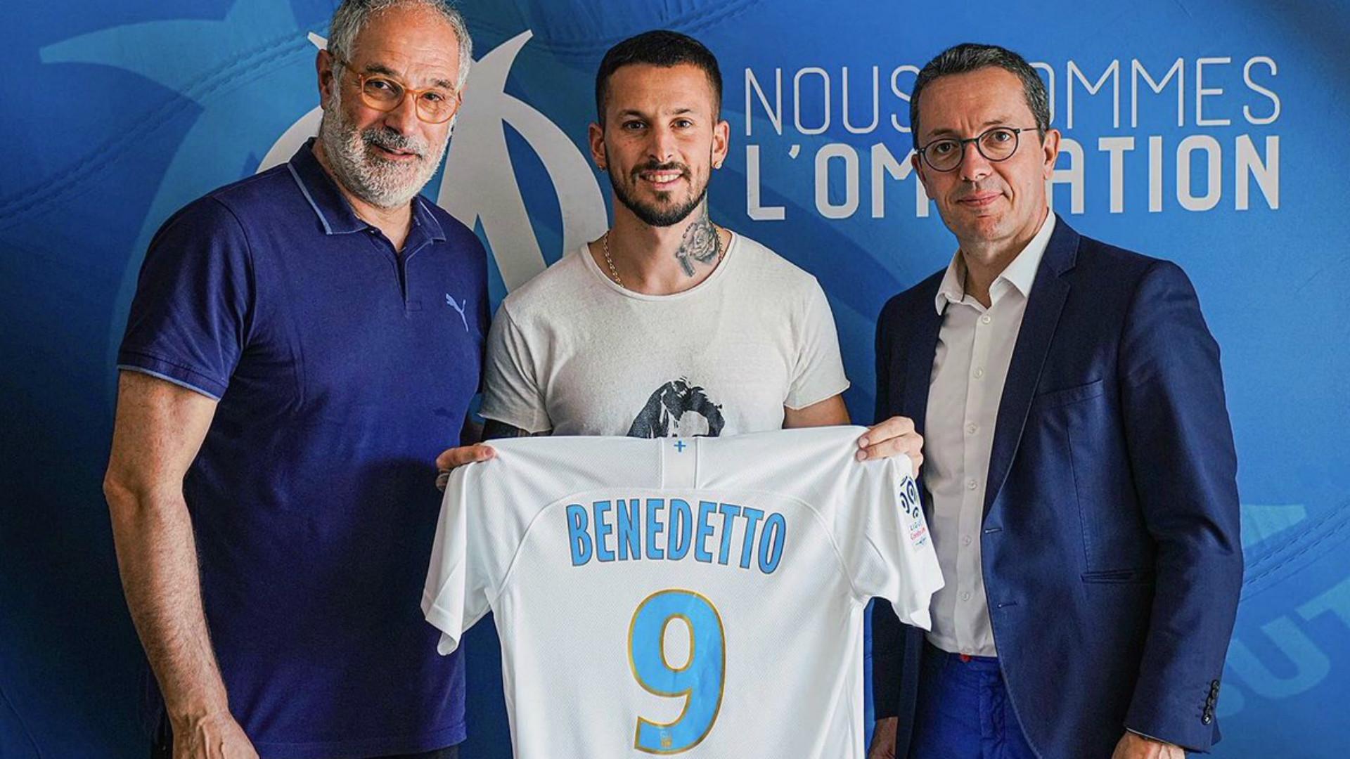 Dario Benedetto Olympique Marseille 05082019